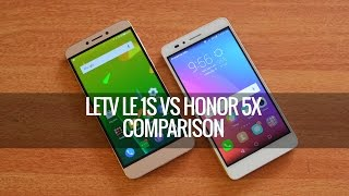 LeEco (Letv) Le 1S vs Honor 5X- Detailed Comparison