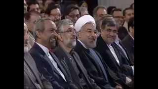 پا کردن توکفش رئیس جمهور روحانی با طنز