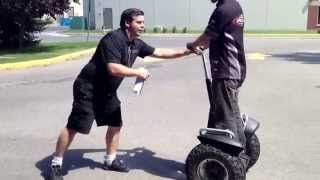Segway X2 and i2 demonstration and information