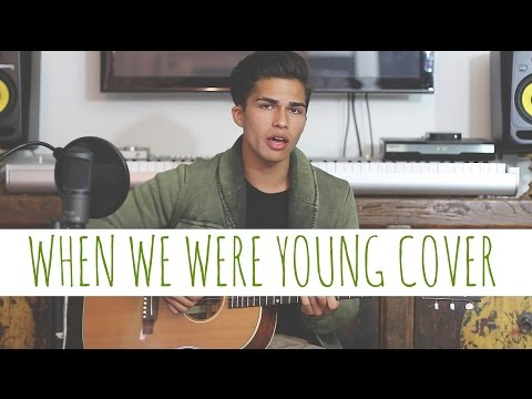 When We Were Young by Adele Alex Aiono Cover