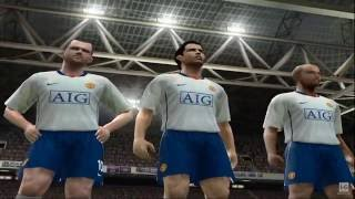 Pro Evolution Soccer 2009 PS2 Gameplay HD