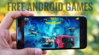 10 FREE ANDROID GAMES YOU MUST TRY !