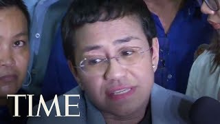 Philippines Journalist Maria Ressa Released On Bail After Arrest For