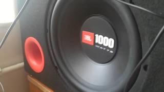 JBL 1000 WATTS KUTU BAS testi