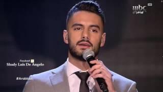 يعقوب شاهين يولع مسرح عرب ايدول ويدبك بالمسبحة على اغنية لقعدلك عالدرب قعودد Arab Idol 2017