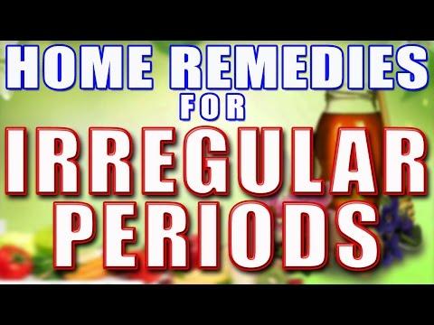 Home Remedies For Irregular Periods II अनियमित मासिक धर्म चक्र का घरेलु इलाज II