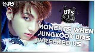 BTS JUNGKOOK - MOMENTS WHEN HE BIAS WRECKED US