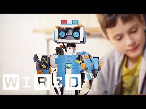 Lego's Boost Kit Turns Your Bricks Into Robots | WIRED UK