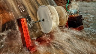 Hybroelectric  generator || how to generate electricity with water flow ||