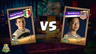 CCGS World Finals Quarter Finals - Adrian Piedra vs MusicMaster