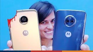 Motorola X4 vs Moto Z2 Play ¡¡DUELO CANIBAL!!