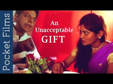 housewife not happy with husband - Hindi Short Film - An unacceptable gift