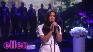 Demi Lovato - Tell Me You Love Me (Live on The Ellen Show 2018) HD
