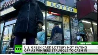Winner's Curse: US Green Card lottery no path to fortune