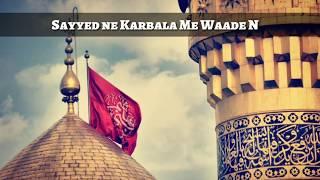 WhatsApp Islamic  status  ❤️❤️❤️❤️ Syed ny karbala main waday nibha dey han