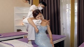 Shoulder Neck massage pain relief | Asian Relaxion Massage