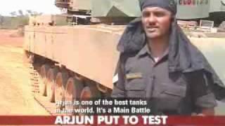 ARJUN TANK  VS  T-90 TANK , MAIN BATTLE TANK