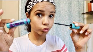 TEEN TRIES MAKE UP FIRST TIME! | EVERYDAY TEEN MAKEUP