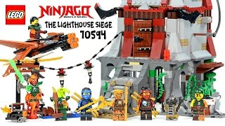 LEGO® Ninjago 70594 The Lighthouse Siege w/  Echo Zane Sky Pirate Attack