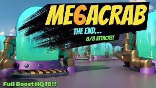 Boom Beach - Mega Crab 6.0 - Final Attacks LIVE