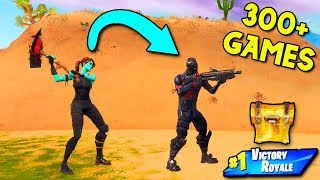 This Fortnite Challenge took me OVER 300 GAMES... it shouldn