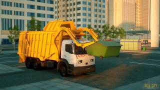 George the Garbage Truck   Real City Heroes RCH   Videos For Children