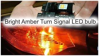 Best Budget Bright Amber Turn Signal LED Bulb vs Switchback LED