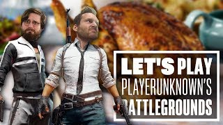 Let's Play PUBG gameplay with Ian and Johnny - LAND DAD AND FUN UNCLE GO CRAZY ON AN ISLAND!