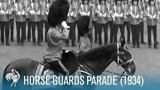 Trooping The Colour: Horse Guards Parade (1934) | British Pathé
