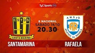 Primera B Nacional: Santamarina vs. Atlético de Rafaela   #BNacionalenTyC