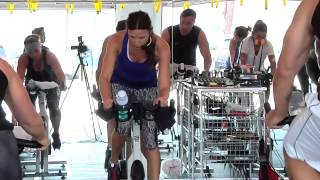 Best FULL hour FREE On-line Spin Class / Cycling Video w/ Cat Kom from Studio SWEAT onDemand -Part 1