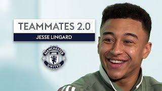 Who has the WORST Fashion at Man United? | Jesse Lingard | Teammates 2.0