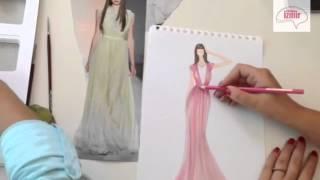 Atölye İzmir® Moda Tasarım / Stilistlik Kursu - Abiye Elbise ve Koleksiyon Hazırlama