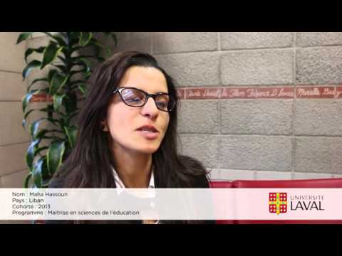 Entrevue du PCBF à l'Universite Laval