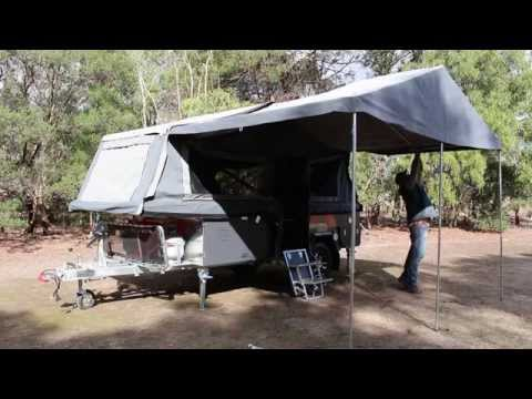 PMX Campers - Coorong GT Awning Setup