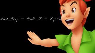 Lost Boy - Ruth B - LYRICS