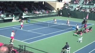 Women's Doubles NCAA Tennis 2011 Final -- Stanford's epic comeback in the tiebreaker (5/30/2011)
