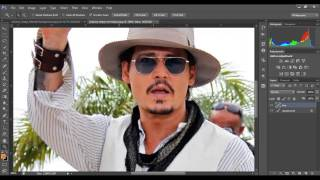 PHOTOSHOP CS6: How to blur the background of a picture: DSLR-like RESULTS!! 2013