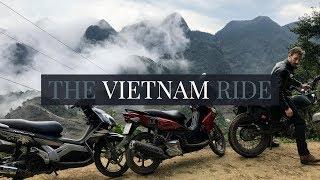 The Vietnam Ride 🏍 Hanoi to Mai Chau Motorbike Trip 2018