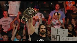 SETH ROLLINS RETURNS AT EXTREME RULES 2016 - 05/23/2016