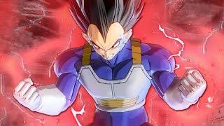 Vegeta's New Transformation! SSG Vegeta VS SSR Goku Black MOD Pack! Dragon Ball Xenoverse 2