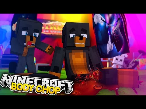 Minecraft BODY CHOP - DONUT LOSES HIS LEGS AT MAGIC SHOW - Donut the Dog Minecraft Roleplay