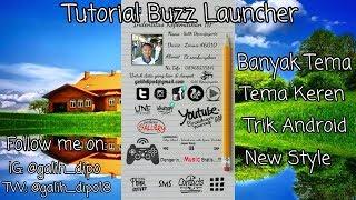 Tutorial Buzz Launcher - Launcher Keren Banyak Wallpaper