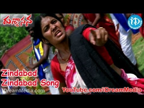 Zindabad Zindabad Song - Dussasana Movie Songs - Srikanth - Tashu Kaushik - Sanjjanaa