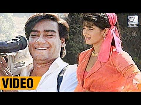 Xxx Mp4 Bollywood Flashback Ajay Devgn And Twinkle Khanna S Jaan Movie Unseen Video Lehren Diaries 3gp Sex