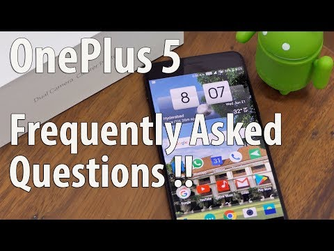 OnePlus 5 FAQ Your Questions Answered after Real World Usage