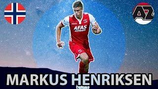 Markus Henriksen ● All goals & Skills ● AZ 2016!