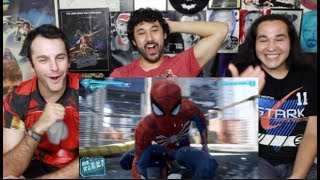 Marvel's SPIDER-MAN (PS4) 2017 E3 GAMEPLAY TRAILER REACTION & REVIEW!!!
