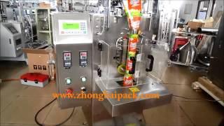 Detergent powder packing machine, washing powder packing machine