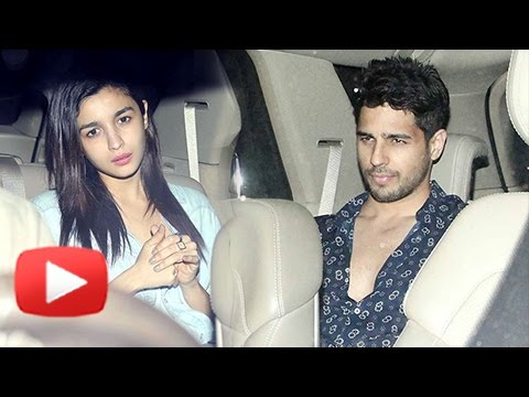 Xxx Mp4 Alia Bhatt And Sidharth Malhotra At Sunny And Anu Dewan S Party 3gp Sex